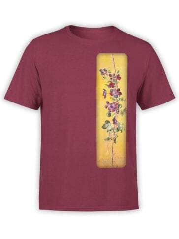 1408 Claude Monet T Shirt Cobeas Front
