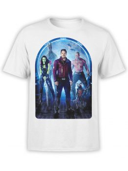 1411 Guardians of the Galaxy T Shirt Team Front