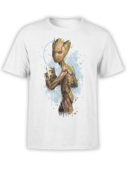 1412 Guardians of the Galaxy T Shirt Teenage Groot Front