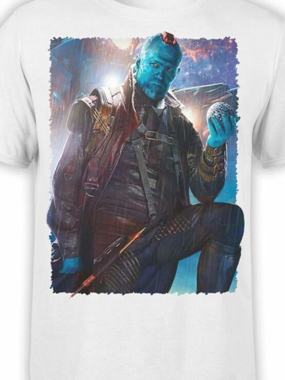 1413 Guardians of the Galaxy T Shirt Yondu Udonta Front Color