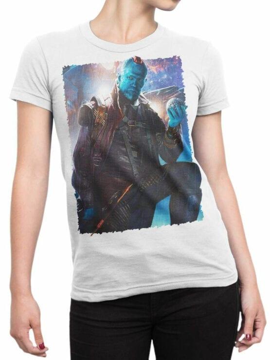 1413 Guardians of the Galaxy T Shirt Yondu Udonta Front Woman