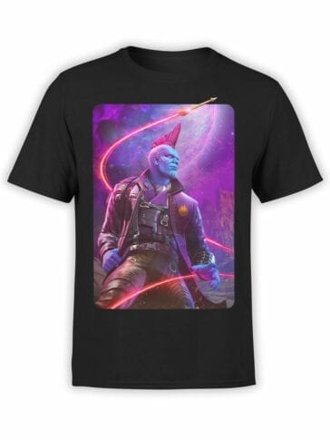 1415 Guardians of the Galaxy T Shirt Yondu Udonta Front