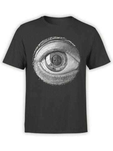 1426 Cornelis Escher T Shirt Twon Eye Front