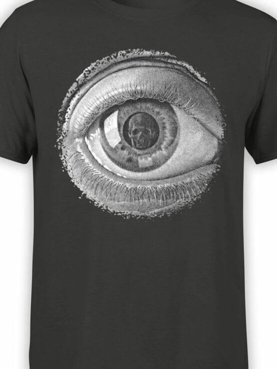 1426 Cornelis Escher T Shirt Twon Eye Front Color