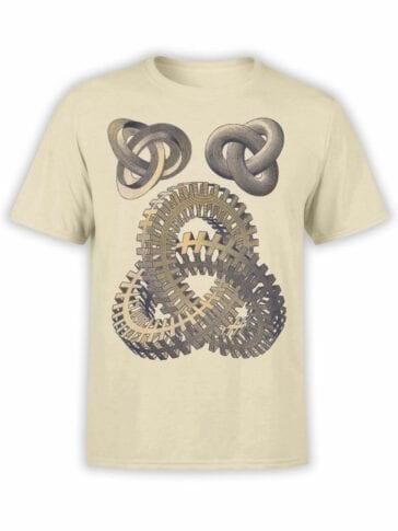 1428 Cornelis Escher T Shirt Knots Front