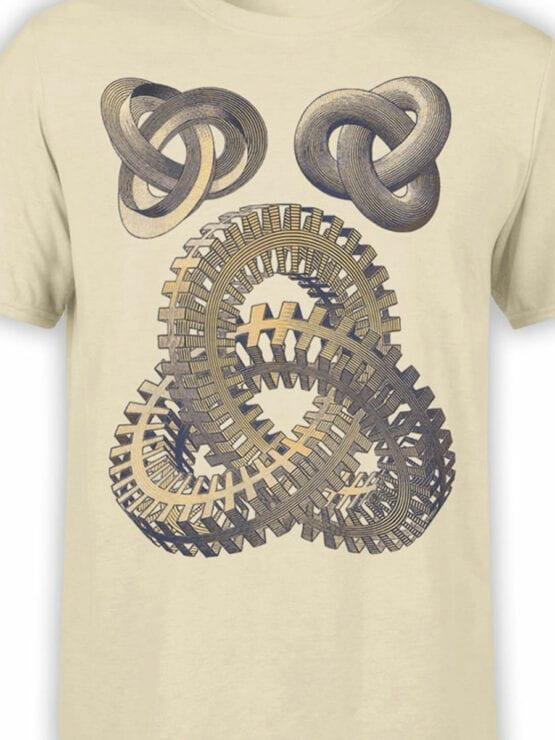 1428 Cornelis Escher T Shirt Knots Front Color