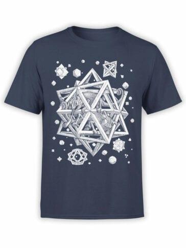 1429 Cornelis Escher T Shirt Stars Front