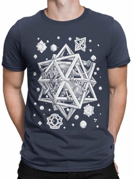 1429 Cornelis Escher T Shirt Stars Front Man