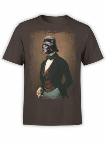 1432 Star Wars T Shirt Lord Vader Front