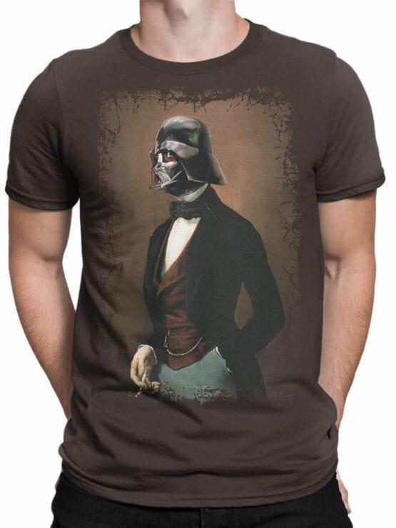 1432 Star Wars T Shirt Lord Vader Front Man