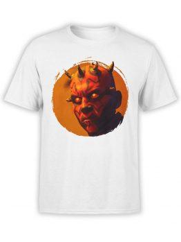 1433 Star Wars T Shirt Dark Side Front