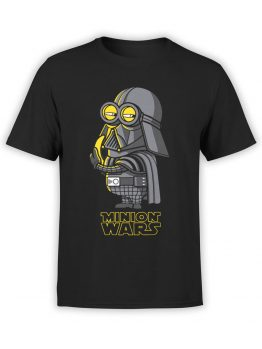1434 Star Wars T Shirt Minion Wars Front