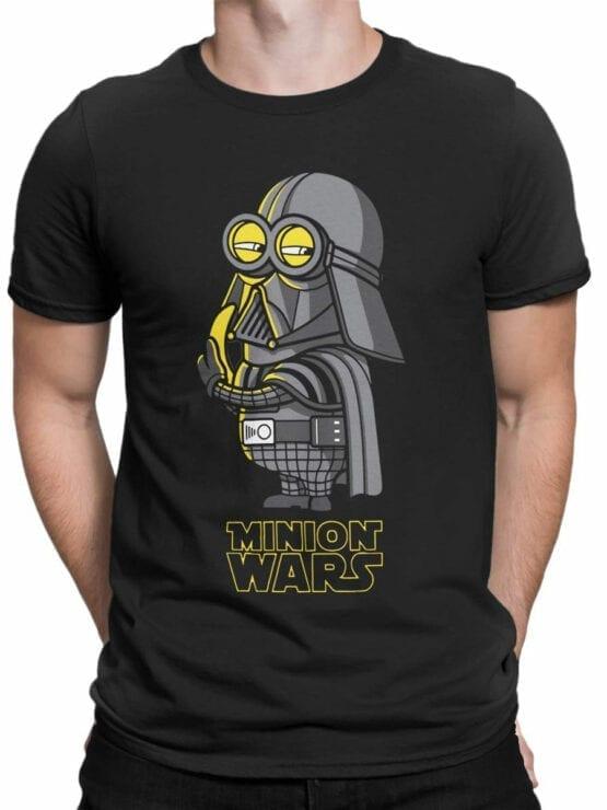 1434 Star Wars T Shirt Minion Wars Front Man