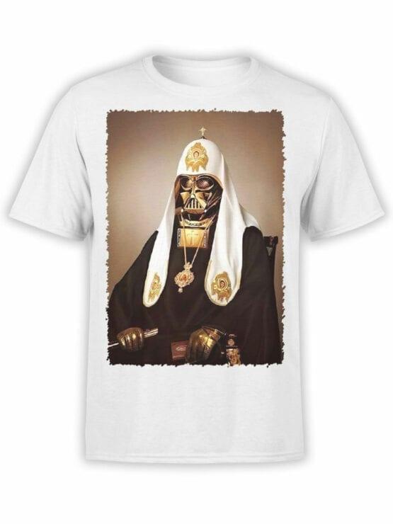 1436 Star Wars T Shirt St. Vader Front