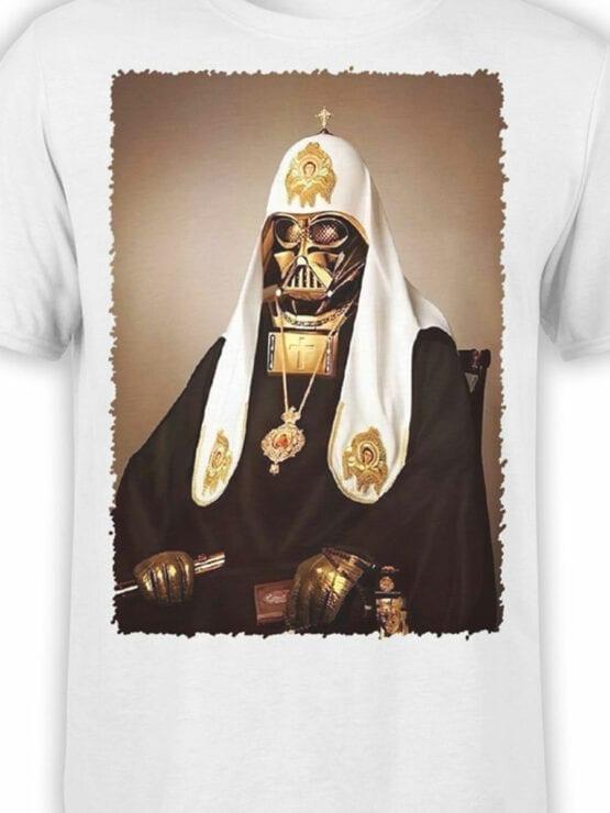 1436 Star Wars T Shirt St. Vader Front Color
