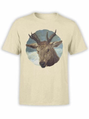 1441 Diego Velazquez T Shirt Head of a Buck Front