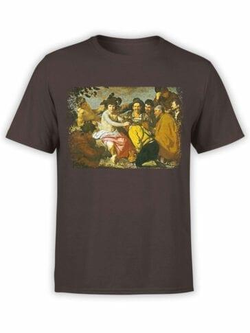 1443 Diego Velazquez T Shirt Triumph of Bacchus Front