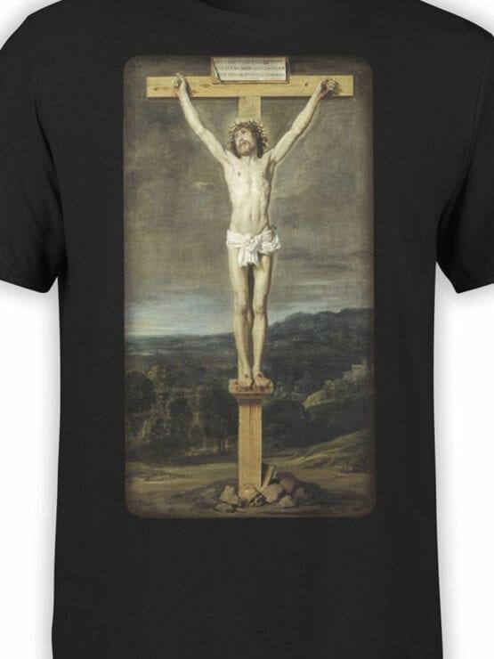 1444 Diego Velazquez T Shirt The Crucifixion Of Christ Front Color