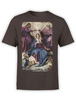 1446 Diego Velazquez T Shirt Coronation of the Virgin Front