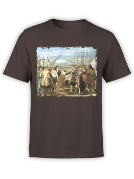 1450 Diego Velazquez T Shirt The Lances Front