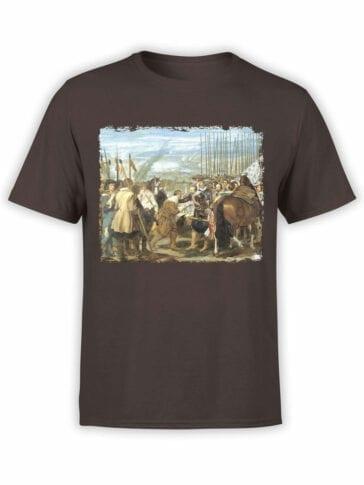 1450 Diego Velazquez T Shirt The Lances Front
