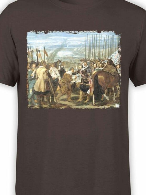 1450 Diego Velazquez T Shirt The Lances Front Color