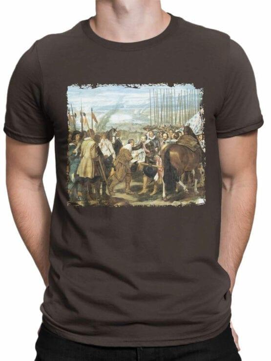 1450 Diego Velazquez T Shirt The Lances Front Man