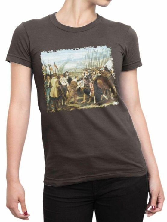 1450 Diego Velazquez T Shirt The Lances Front Woman