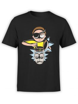 1457 Rick and Morty T Shirt Tuning Front