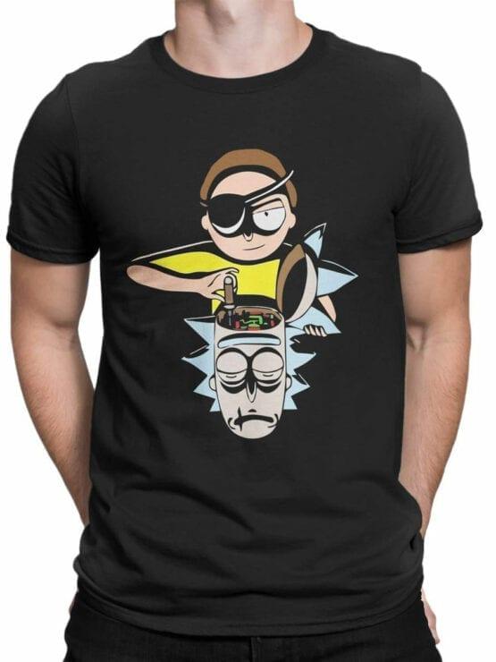 1457 Rick and Morty T Shirt Tuning Front Man