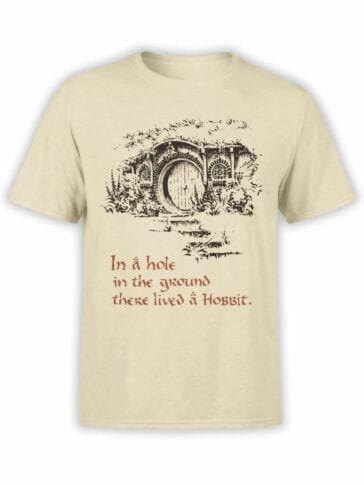 1461 The Lord of the Rings T Shirt Hobbiton Front