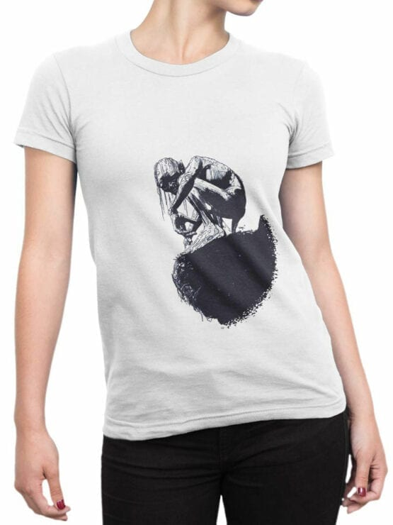 1463 The Lord of the Rings T Shirt Gollum Draw Front Woman