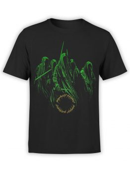 1464 The Lord of the Rings T Shirt Nazguls Front