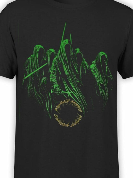 1464 The Lord of the Rings T Shirt Nazguls Front Color