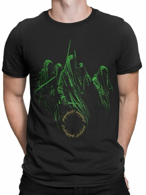 1464 The Lord of the Rings T Shirt Nazguls Front Man