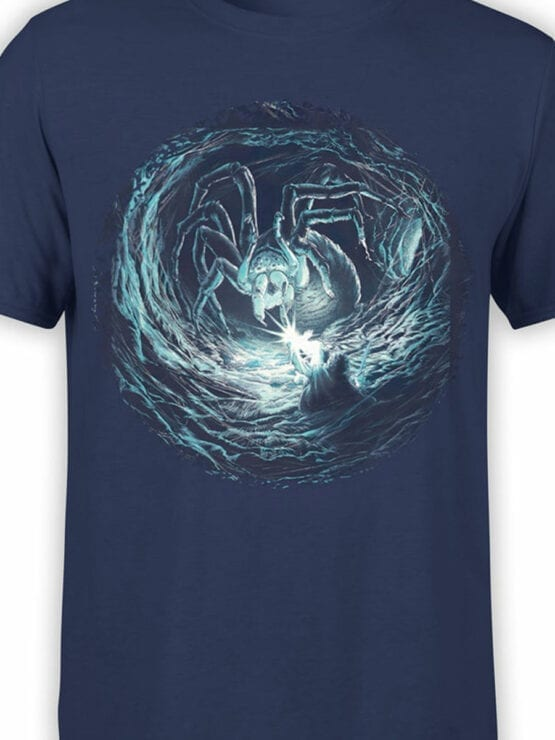 1467 The Lord of the Rings T Shirt Shelob Front Color