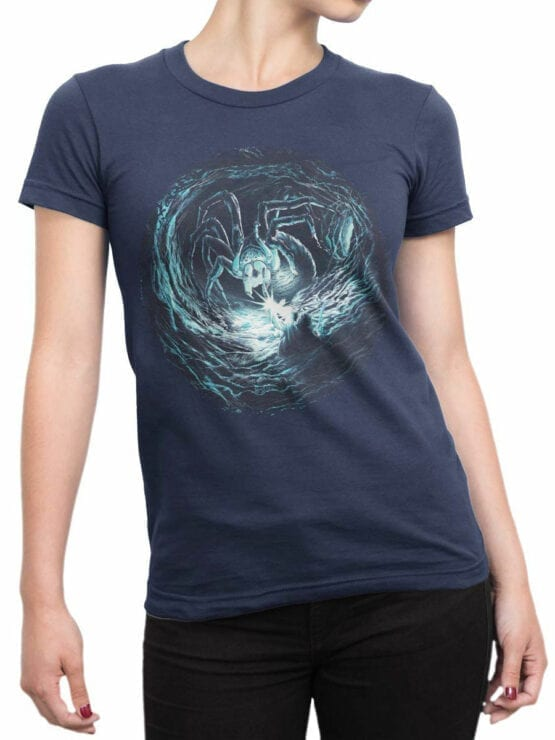 1467 The Lord of the Rings T Shirt Shelob Front Woman