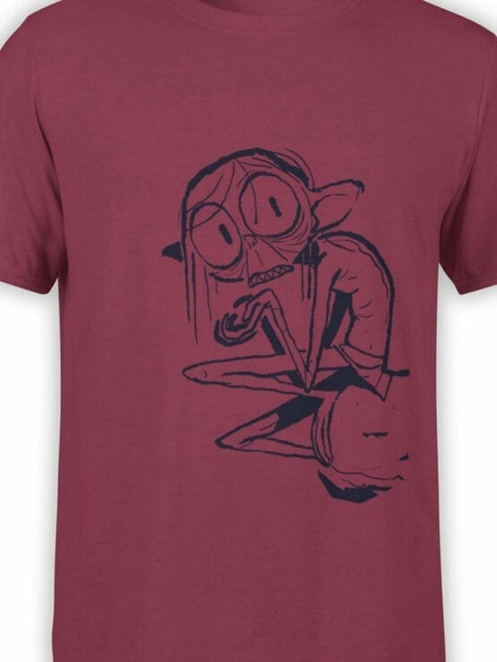 1468 The Lord of the Rings T Shirt Cute Gollum Front Color