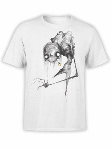 1470 The Lord of the Rings T Shirt Scary Gollum Front