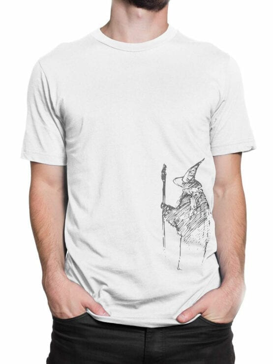 1472 The Lord of the Rings T Shirt Gandalf the Grey Front Man 2