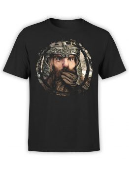 1477 The Lord of the Rings T Shirt Gimli Front