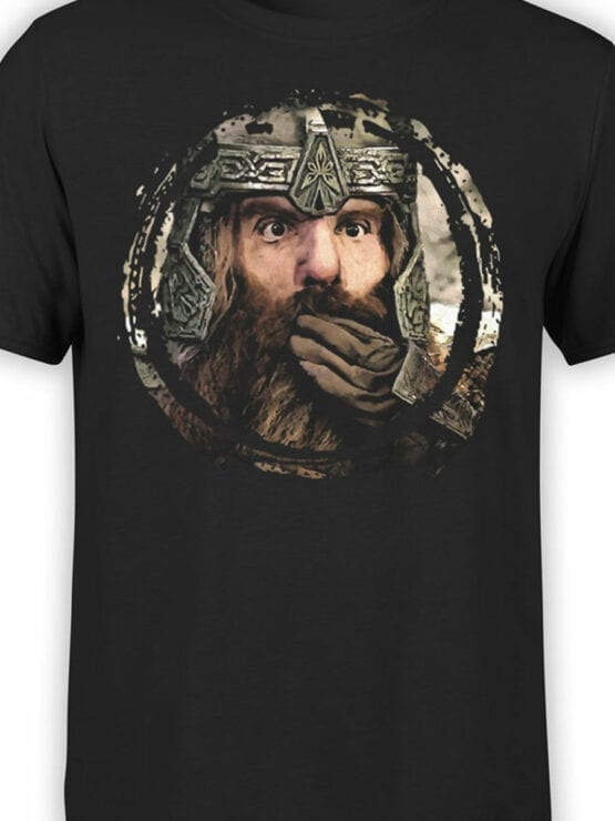 1477 The Lord of the Rings T Shirt Gimli Front Color