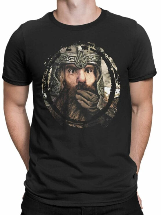 1477 The Lord of the Rings T Shirt Gimli Front Man