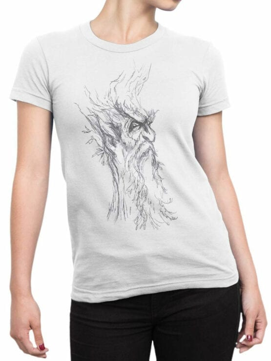 1480 The Lord of the Rings T Shirt Ent Front Woman