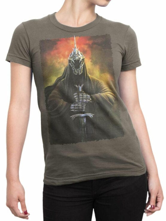 1484 The Lord of the Rings T Shirt Destiny Front Woman