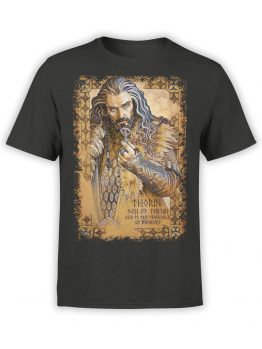 1486 The Lord of the Rings T Shirt Thorin Front