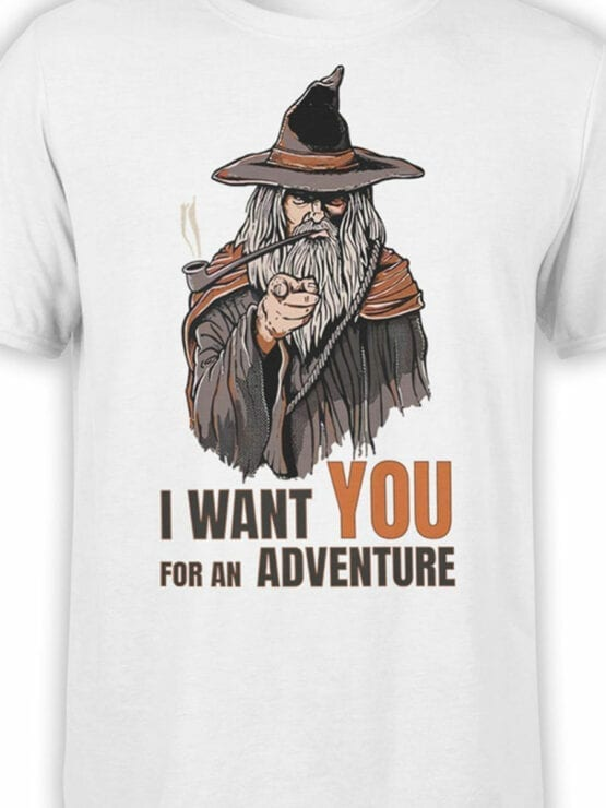 1487 The Lord of the Rings T Shirt Adventure Front Color