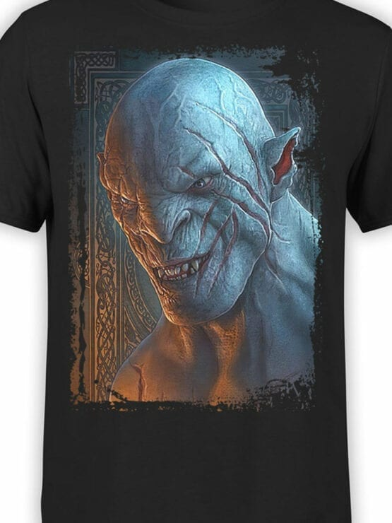1488 The Lord of the Rings T Shirt Azog Front Color