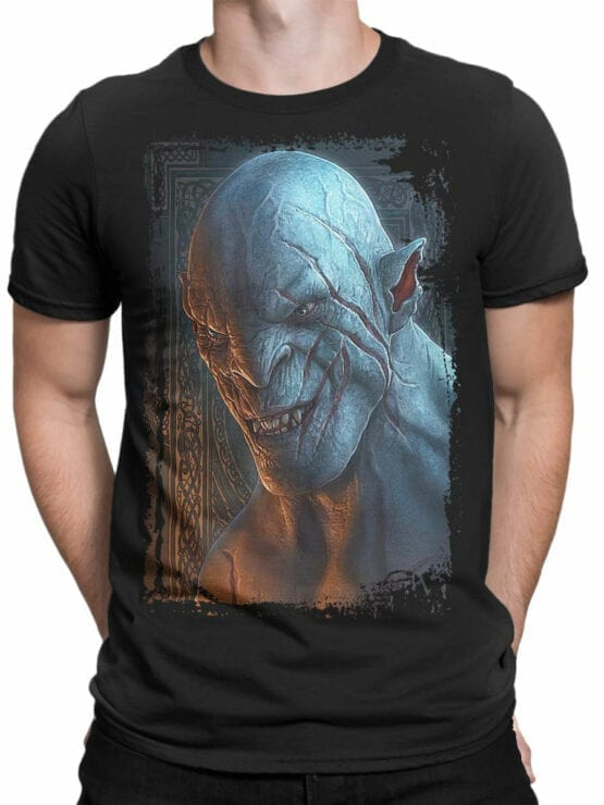 1488 The Lord of the Rings T Shirt Azog Front Man