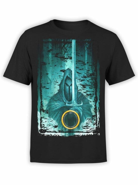 1489 The Lord of the Rings T Shirt Night Front